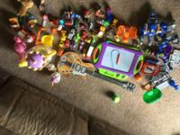 Various Toys (Guitar, Etch a Sketch, Hot Wheels, etc)