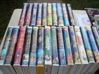 VCR Tapes...3.00 each. Have various tapes...many Disney