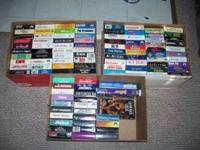 have a 107 vhs tapes all in original covers,,,various