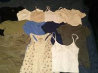 I have various women's clothes items for sale. They