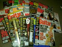 Thirty six guitar publications from the 2000's. 3 Metal
