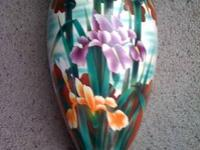 Vase, 2 Nice Tall pieces over 100 years old, owned for