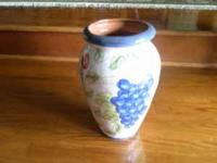 "VASE Ceramic - Glazed... 11"" Tall Phone   Location:"