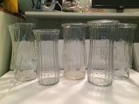 For sale: vases- $5 each or $25 for all , set of