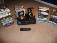 VCR (in great working condition) for sale. Comes with