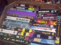 I HAVE 200 TO 300 VCR MOVIES FOR