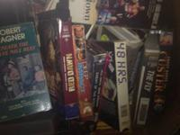 I have over 150 VCR movies , classics, and box office