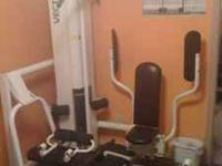 Vectra weight machine. Single stack (210 lb) multi