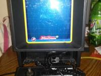 This is a Vectrex from 1982 it's a vector based arcade