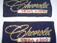 3 Patches total 2 (two) ChevRoLet Dealership Uniform