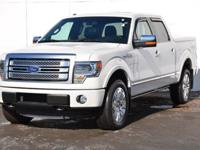 You can tell this 2013 Ford F-150 has been pampered by