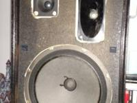 "Professionally made, speakers have 10"" subwoofers,"