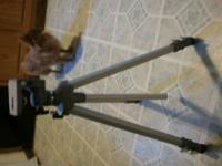 Velbon VE-3 Tripod can be used for camera or camcorder.