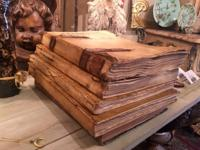 Vellum Books For Your Decor $345 Each Clutter Antiques