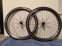 Velocity Chukker Wheels & Velocity Hubs, 32 spoke -