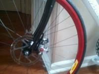 Hi all, Velocity deep V wheelset with a front disc and