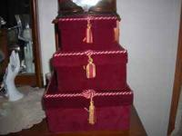 gift boxes, small, medium and large Lillian Vernon