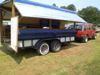 Venders Trailer 14' dual axel-enclosed or open-