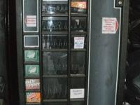 I have two vending machines that house both beverages
