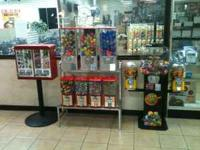 BULK CANDY, TOY, STICKER MACHINES. Look at the pictures