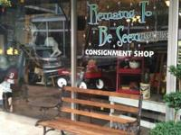 Downtown Mebane's most recent consignment store.