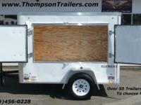 New Enclosed Swapmeet Trailer w/ Custom Display Doors.