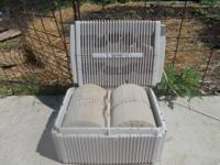 Up for sale is a used Venta-Wash air purifier device,