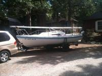VENTURA 21ft. Sail boat, excellent condition. 2 sails,