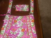 I have a vera bradley cross body bad with matching