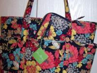 I have for sale a Vera Bradley Go Round Tote and