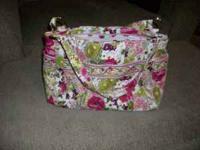 Vera Bradley Stephanie Handbag For