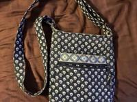 Vera Bradley hipster bag. Used but in good