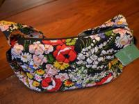 Quilted cotton Vera Bradley purse in Poppy Fields