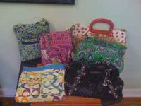 i have four vera bradley purses two wallets and a coach