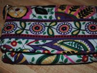 Vera Bradley wallet in perfect condition, only used