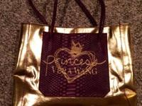 Vera Wang gold princess bag/purse for sale!  Only used