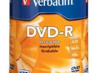Unopened 100-Pack 16x Verbatim DVD-R Life Series offers