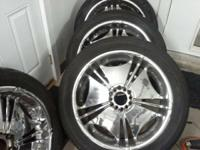 "I have a set of Verde 22"" wheels and 305-40-22 tires."