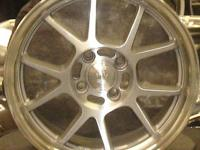 "VERDE WHEELS REGANCY V41 16"" SILVER WITH MACHINED LIP,"