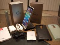 I'm selling my personal LG G3 (VS985 - Silk White -