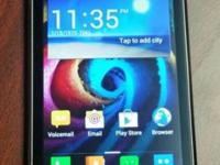Verizon smartphone in excellent condition, brand new