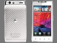 Verizon Motorola droid Razr White 16GB internal storage