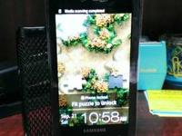 Verizon Galaxy S Fascinate touch screen smart phone in