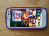 Verizon samsung galaxy s3 white for sale for $100.00 in
