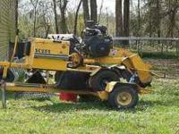 2003 Vermeer 252 Stump Grinder with Tow Trailer, new