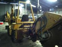 2004 Vermeer 4150a diesel with a 4ft rocksaw with