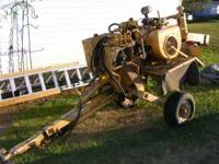 Vermeer 630A stump grinder for sale. Has a 4 cylinder