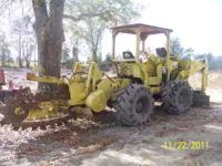 TRENCHER W/ BACKHOE ATTACHMENT LOW HOURS READY TO WORK