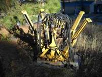 Vermeer Tree spade, 3 point attachment,hydraulic