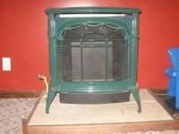 1997 Vermont Casting, vent free gas stove, missing log